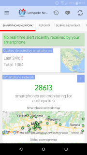 🚨 Earthquake Network - Realtime alerts screenshot 7