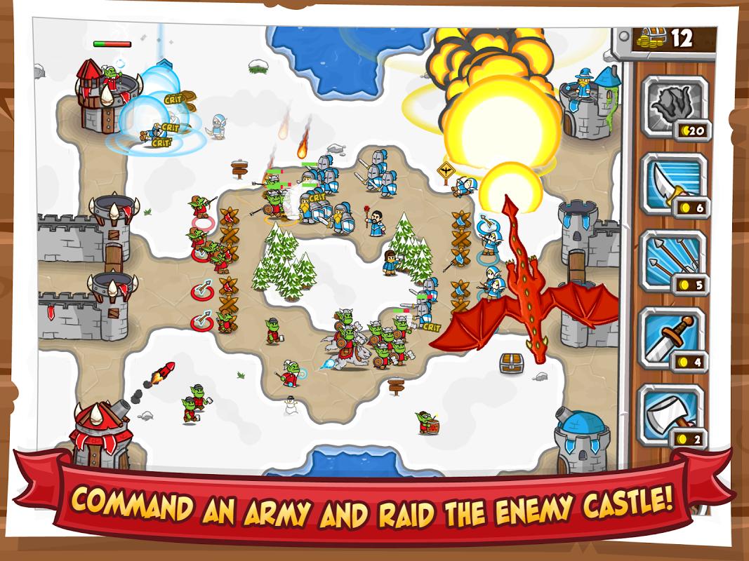 Castle Raid 2 screenshot 1