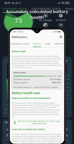 Battery Guru - Battery Monitor - Battery Saver screenshot 3