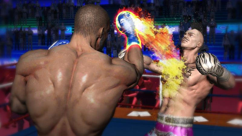 perforer la boxe boxing 3d