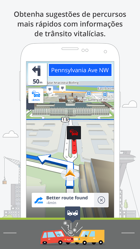 Sygic GPS Navigation & Maps screenshot 1