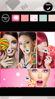 Lollipop Photo Collage screenshot 4