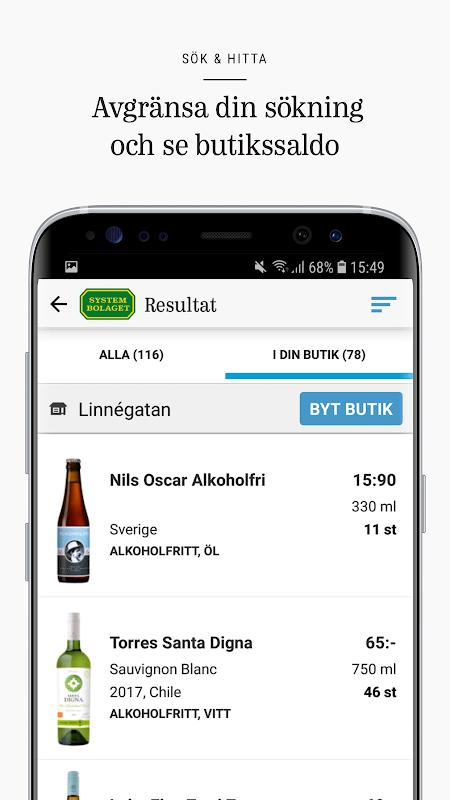 Systembolaget - Sök & hitta screenshot 2