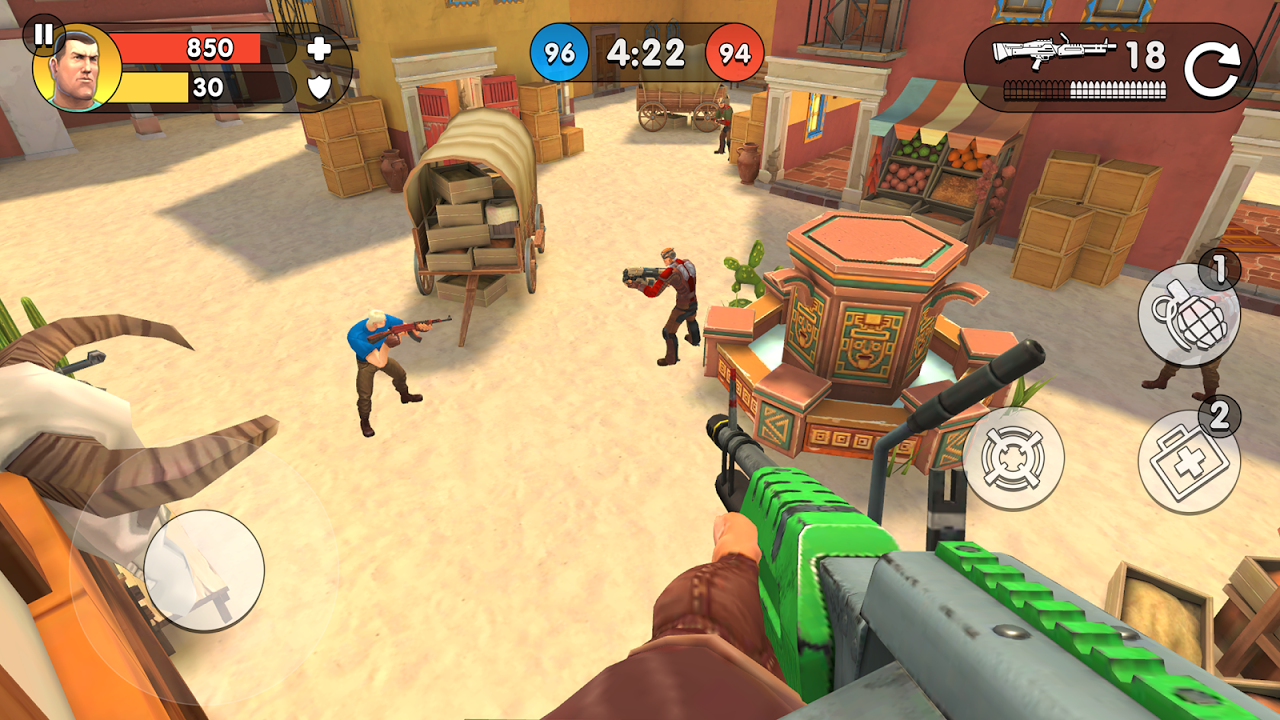 Guns of Boom - Online PvP Action screenshot 1