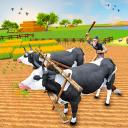 Vintage Village Bull Farm: Animal Farm Simulator