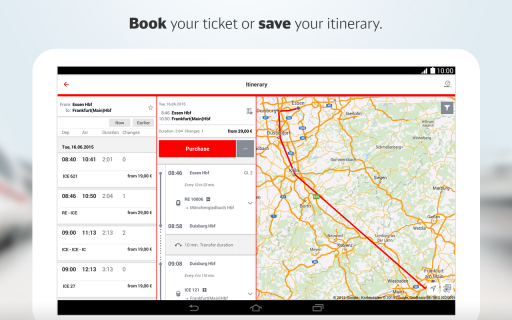 DB Navigator screenshot 3