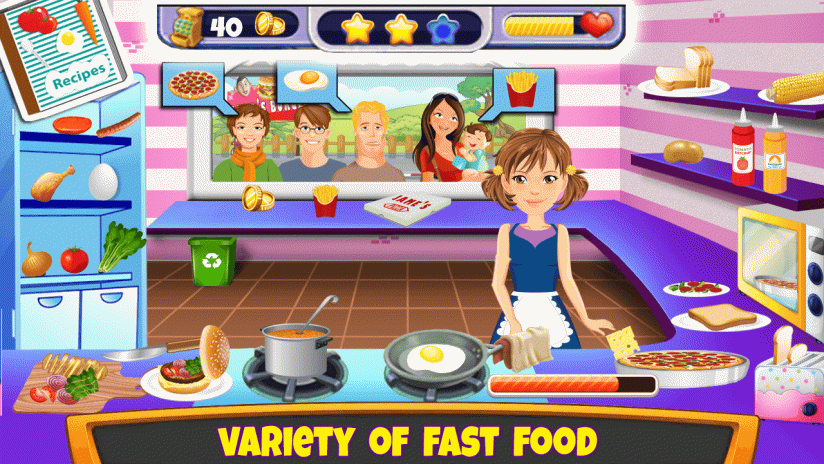 Crazy Kitchen Cooking Scramble 1.0 Download APK for Android - Aptoide
