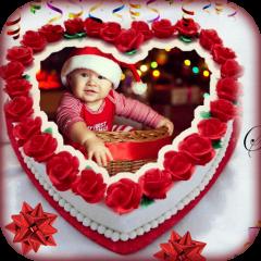Birthday Cake Photo Frame Icon