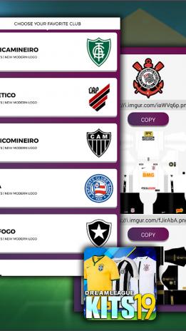 Dream League Brasileiro Kits Soccer Brazil New Version Laden
