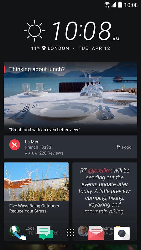 HTC Sense Home screenshot 1