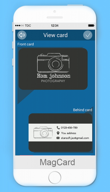 MagCards Business Card Design