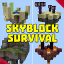 skyblock survival maps for mcpe