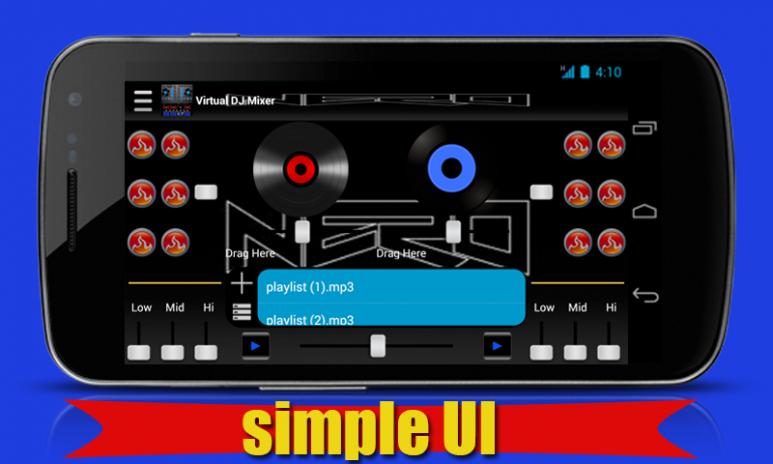 Virtual DJ Mixer Player 1 1 ดาวน์โหลด APKสำหรับแอนดรอยด์- Aptoide