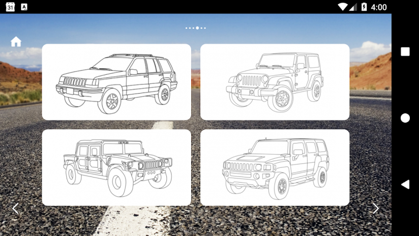 Coches Americanos Para Colorear 1.7 Descargar APK para Android - Aptoide