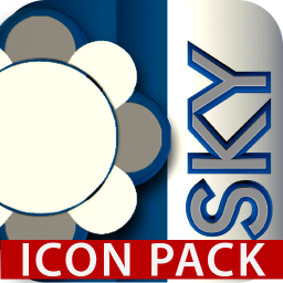 Sky Icon Pack Blue White 1 4 Download Apk For Android Aptoide