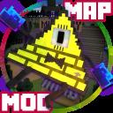 Karte & Mod Gravity Falls für MCPE