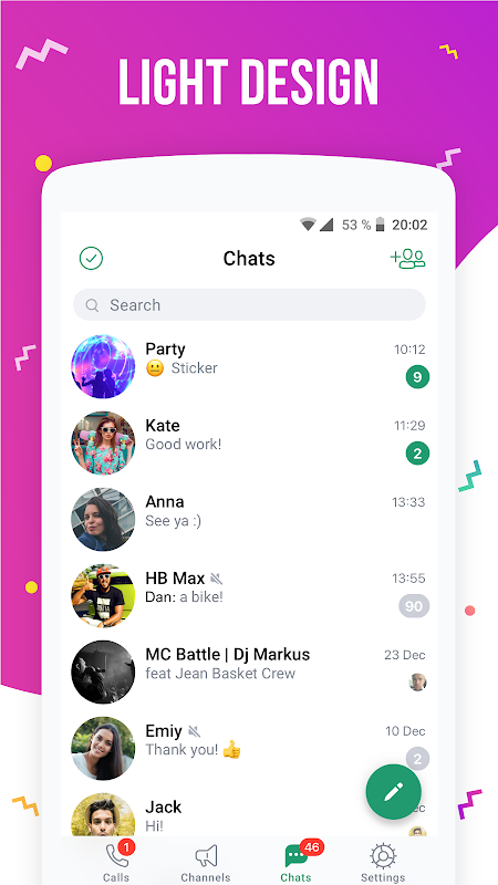 icq appel video