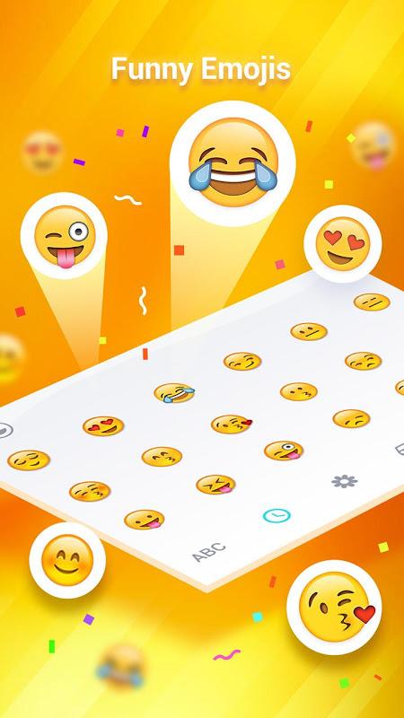 Panda Keyboard(Tema+Emoji) screenshot 2