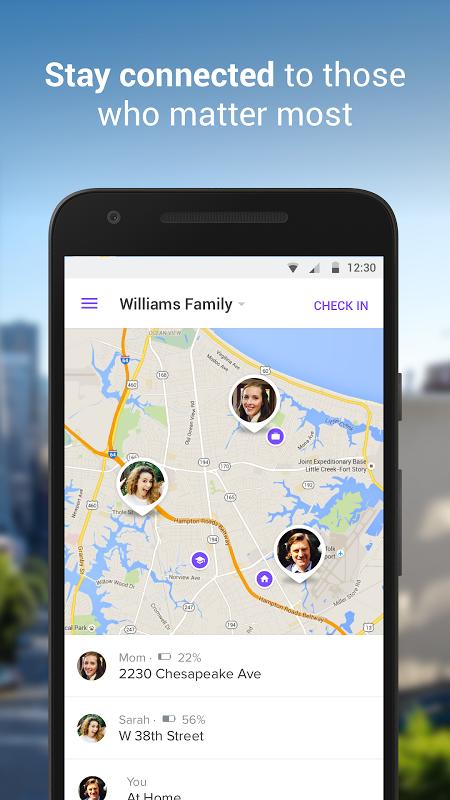 Life360 - Localizador Familiar e Celular screenshot 1