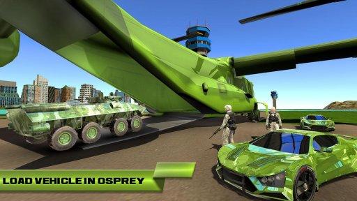 US Army Car Transport Cruise Ship Simulator 2020 screenshot 3