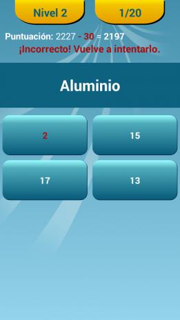 Quiz de la tabla peridica 245 descargar apk para android aptoide quiz de la tabla periodica captura de pantalla 11 urtaz Images