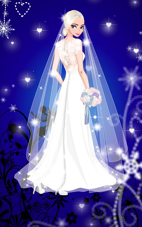 ❄ Icy Wedding ❄ Winter Bride screenshot 1