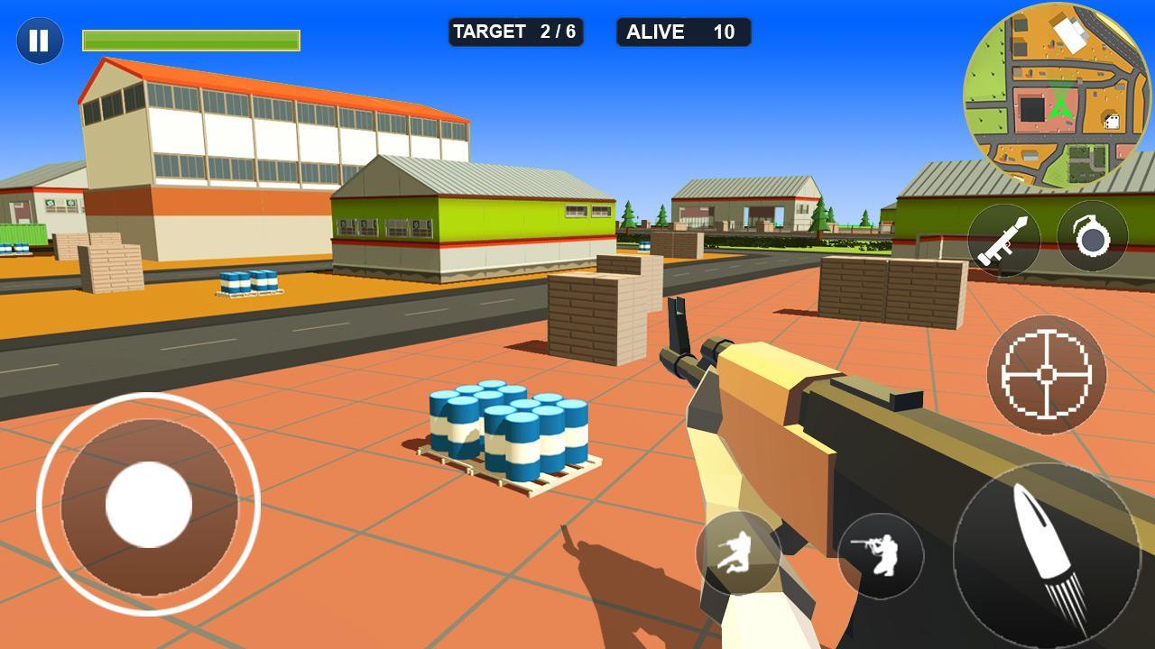 Pixel Battle Royale screenshot 2