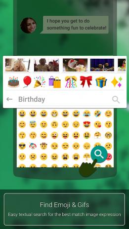 Ai Type Emoji Tastatur Plugin Screenshot 1
