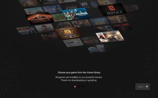 Vortex Cloud Gaming screenshot 10