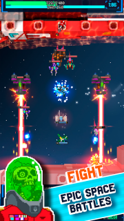 Twin Shooter Armada (Unreleased) screenshot 1