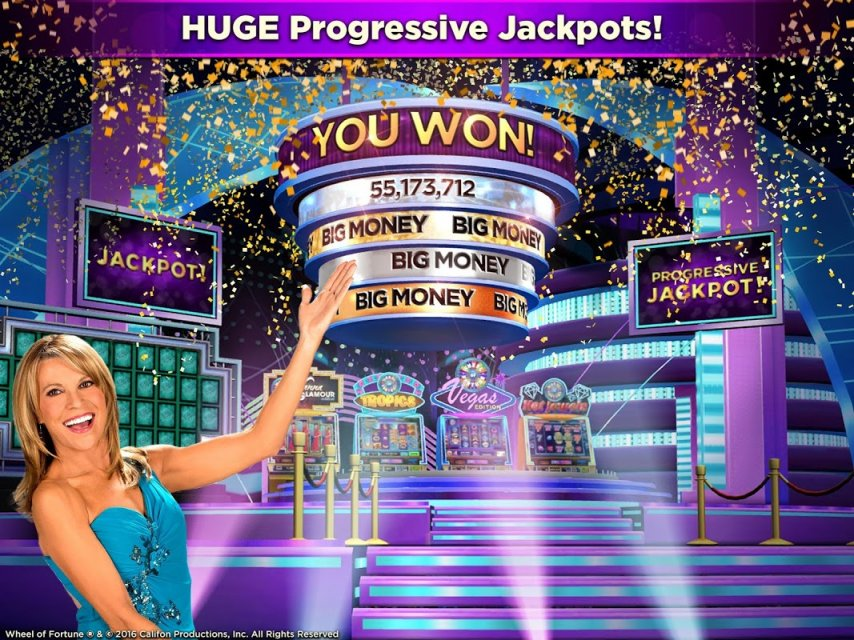 casino slots wheel of fortune