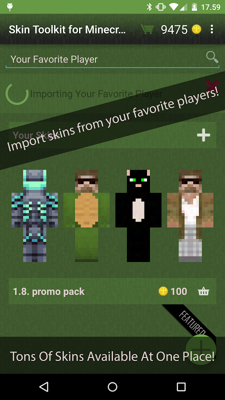 Skin Toolkit for Minecraft screenshot 1