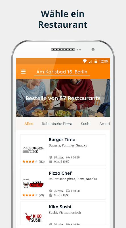 pizza.de | Food Delivery screenshot 1