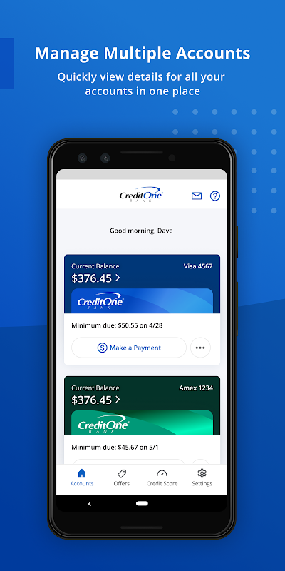 Credit One Bank Mobile 9.9 Download Android APK Aptoide
