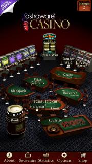 Astraware Casino HD screenshot 1