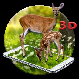 White Deer 3D Live wallpaper1 1 1 tải APK dành cho Android - Aptoide