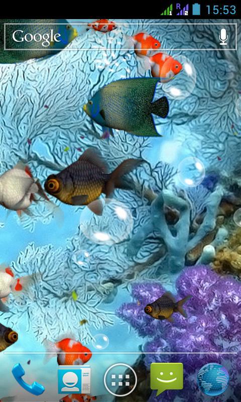 Aquarium 3D Live Wallpaper screenshot 2