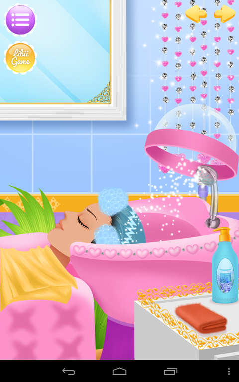Princess Salon screenshot 2