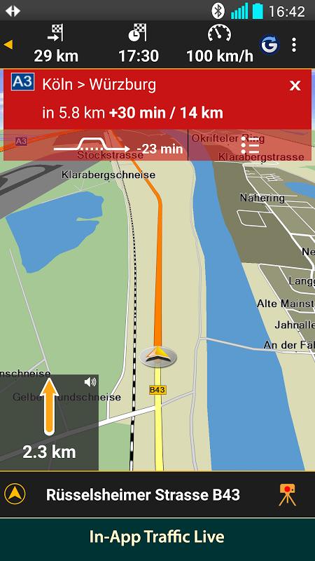 NAVIGON Nordics screenshot 1