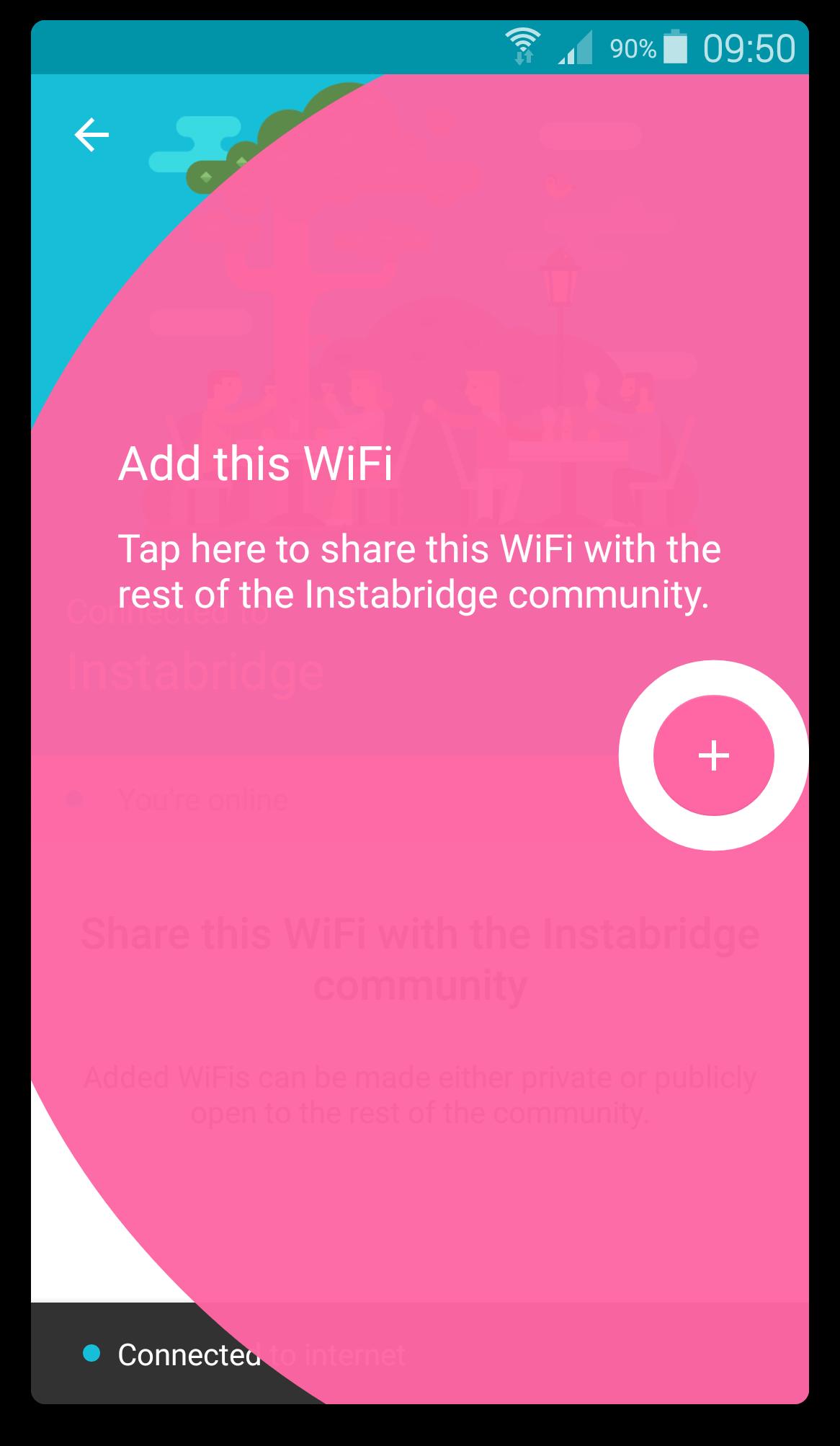 Instabridge - Wifi Grátis screenshot 1