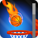 Five Basketball Hoops