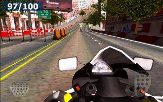 Speed Moto Racing - City Edt. Screen