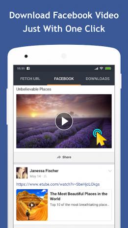 facebook video indirme hd