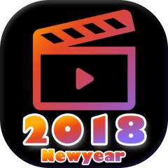 62f73d1be795 2018 New Year Video Maker - Movie Maker 1.0 Descargar APK para ...