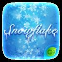 Snow Flake GO Keyboard Theme