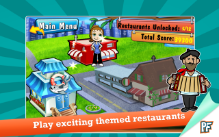 Cooking Dash Deluxe Screen