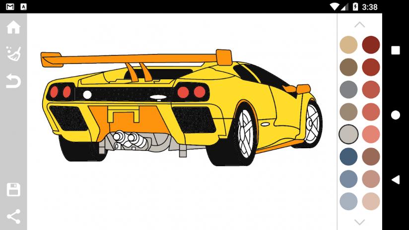 Italian Cars Coloring Book 1.3 Laden Sie APK für Android herunter ...