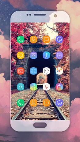تحميل APK لأندرويد - آبتويد S9 launcher , Samsung Galaxy S9