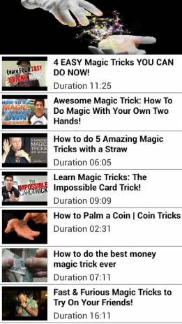 Easy Magic Tricks Tutorials 1 1 Download APK for Android