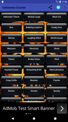 halloween ringtone sms sounds screenshot 1